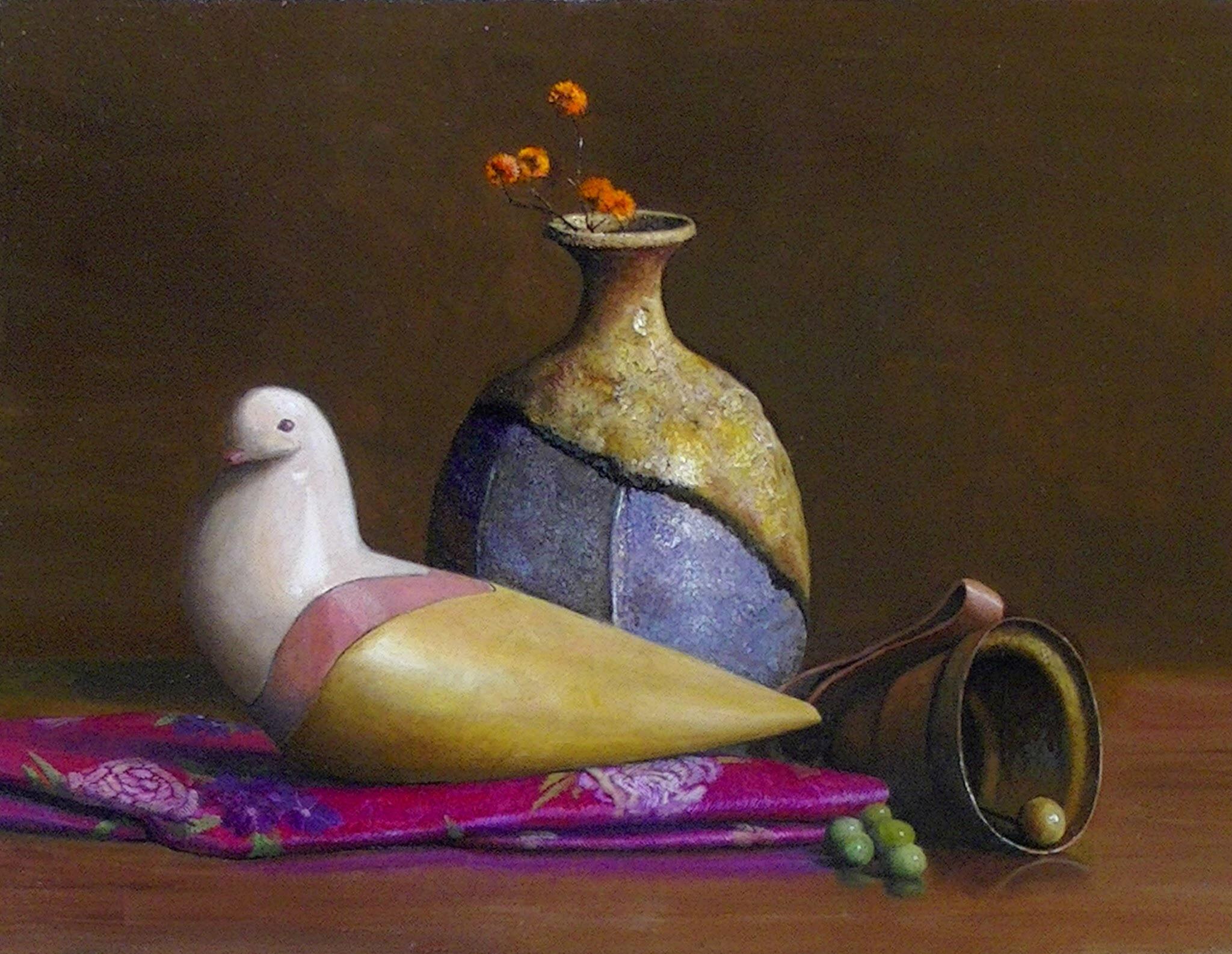 貴婦人 6P(410x273mm)       oil painting on cotton