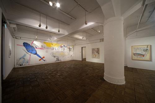 2012.11/20-12/2「村山春菜 個展」展示風景