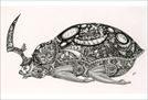 カンダ シンジ 個展 「月と小川の記録」