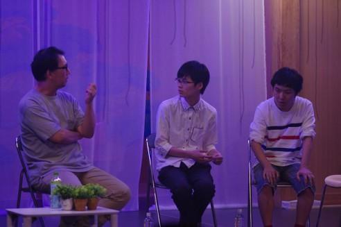 『不眠普及』仙台公演アフタートークの様子