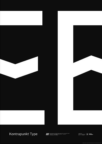 Design by Kontrapunkt/Typefaces by Kontrapunkt('Goertek`&'Miki`)