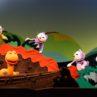 人形劇団クラルテ第109回公演『11ぴきのねこどろんこ』