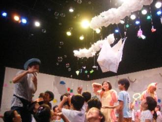 企画事業/劇研なつまつり2012「かむじゅうのぼうけん~おりがみで遊ぼう!」